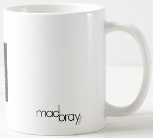 back of madbray.com coffee mug